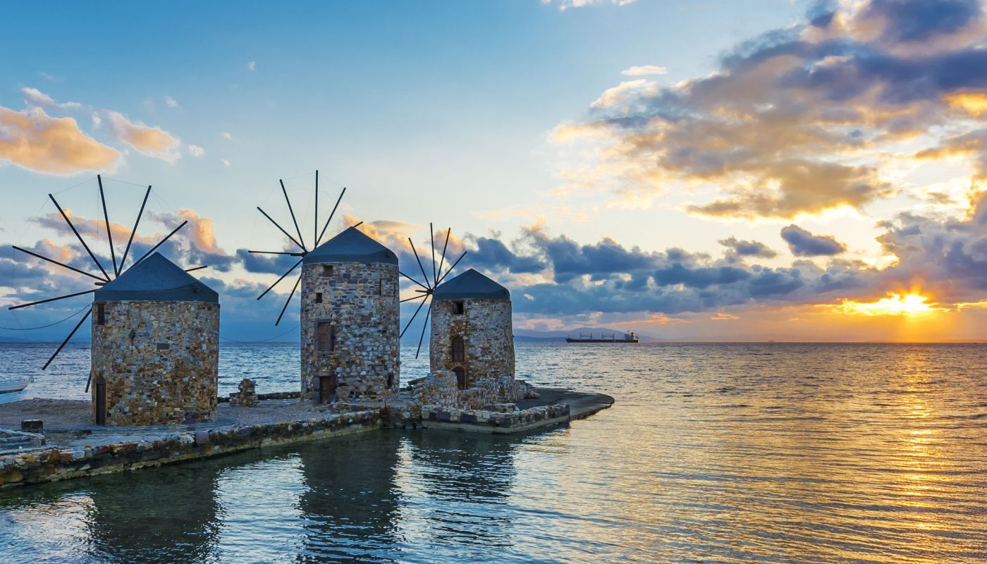 chios island greece hotels activities cooking lessons windmill vrondados